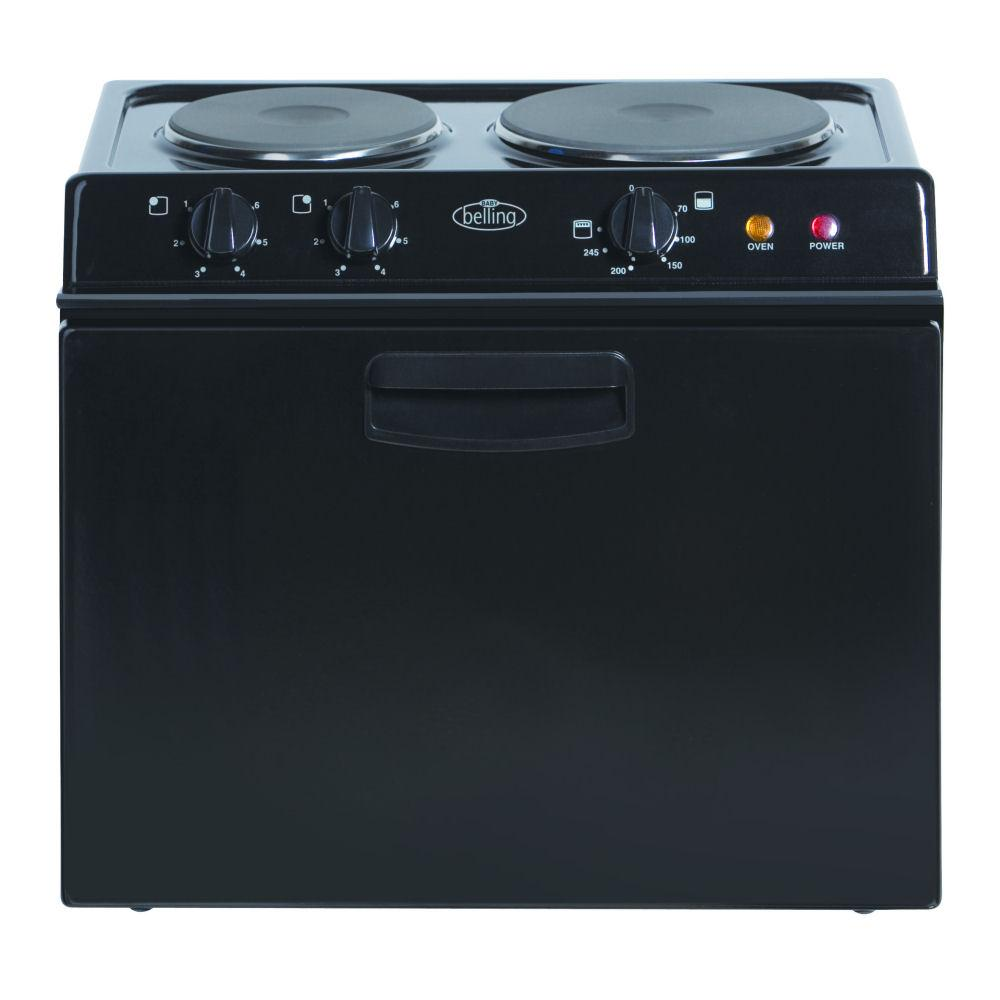 Table Top Dishwasher Hertfordshire : Belling BABY121RK Baby 13a Fuse Table Top Cooker Black