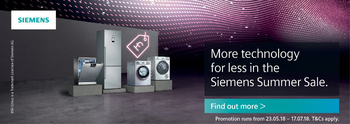Siemens Summer Sale