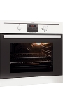 BE2003020W AEG Multifunction 4 Function Oven White