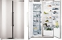 S95500XNM0 AEG 552lt-19.5ft SXS Fridge Freezer Stainless Steel