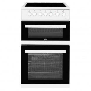 Beko EDVC503W Edvc503w 50cm Double Oven Electric Cooker