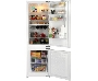 BC732 Beko F/itergrated Fridge/Freezer 7.8 Cu .ft / 1.9 Cu.ft