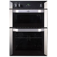 Belling BI90FPK 444449591 BuiltIn Double Oven Electric Black