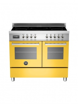 Bertazzoni PRO1005IMFTY Pro 100cm Electric Range InductionHob Yellow