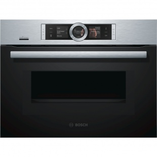 Bosch CMG656BS6B HomeConnect 12 Function Microwave Oven