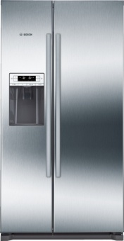 Bosch KAI90VI20G 176x91 American Style Fridge Freezer, Ice & Water
