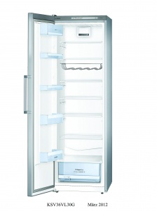 Bosch KSV36VL30G 186 X 60cm Supercool Upright Fridge St/St Look