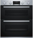 NBA5570S0B Bosch 7 Function 4 Function Ecoclean in Both Ovens B/St