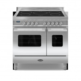 Britannia RC9TIDES 90cm Twin Delphi Induction Range St/St