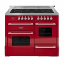 RC11XGIDERED Britannia 110cm Induction Hob Delphi Range Cooker Red