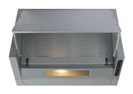 CDA EIN60SI Integrated Cooker Hood Silver