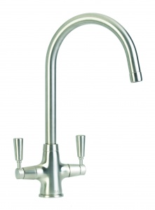 CDA TT41NI TAP MONOBLOC QUARTER TURN TRADITIONAL NICKEL