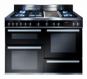 RV1200SS CDA 120cm Dual Fuel Range Cooker Stainless Steel