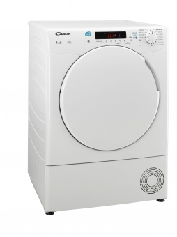Candy CSC8DF Condenser Tumble Dryer 8kg White Plastic Door