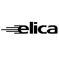 Elica MINICYONWH Rlica Vertical Decorative Hood 550mm White Glass
