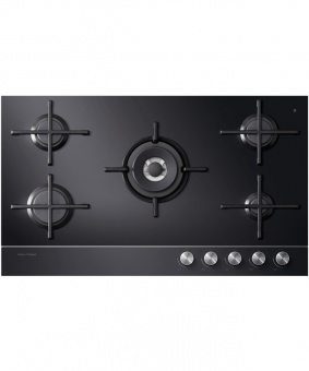 Fisher&Paykel CG905DLPGB1 85360 Gas Hob Wide Black