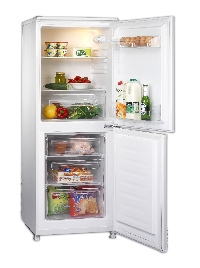Frigidaire FRE196AS  55cm wide Silver F/freezer 202ltrs  A rated