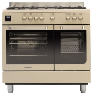 Hoover HGD9395IV 90cm Twin Cavity Dual Fuel Range Cooker