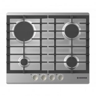 Hoover HGH64SCEX 60cm 4 Burner Gas Hob