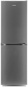 Hoover HMCL5172XIN Low Frost Fridge Freezer Silver A+ Energy Rated