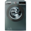 H3W58TGGE Hoover 8kg 1500 Spin Washing Machine Graphite A+++