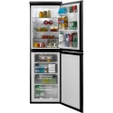 HCF5172BK Hoover 177cm x  55cm A+ Frost Free Fridge Freezer Black