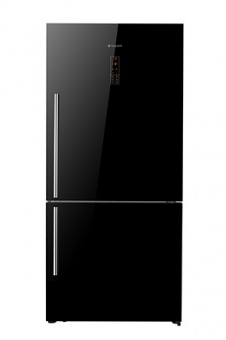 Hotpoint BMD725GHF Fridge Freezer 6040 Black