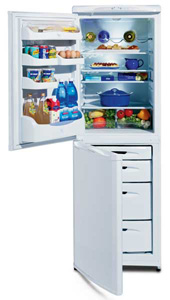 Hotpoint FFA70S Silver 60x180cm 6.4/3.9 Cu Ft Frost Free