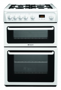 Hotpoint HAG60P 60cm Gas Cooker White