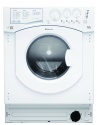 BHWD1291 Hotpoint Built In 6kg 5kg 1200rpm Washer Dryer