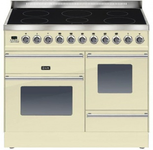 Ilve PTWI100E3CR Roma 100cm Wide XG 6 Zone Induction Cream