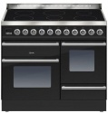PTWI100E3BLK Ilve Roma 100cm Wide XG 6 Zone Induction Black