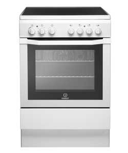 Indesit I6VV2AW 60cm Electric Cooker White