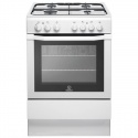 I6GG1W Indesit 60cm Single Cavity Cooker With Fsd White