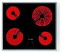 KM5600 Miele 574mm Wide 4 Zone Ceramic Hob St/st Frame