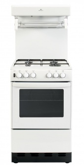 NewWorld NW50THLG Gas Cooker Eye Level Grill White