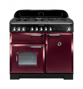Image of CDL100DFFCY/C 92510 Rangemaster CLASSIC DELUXE 100 DF CRANBERRY