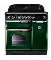 77880 Rangemaster 90 Classic Ceramic Green & Chrome