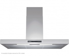 Siemens LC94BA521B 90cm Wide Box Design Hood