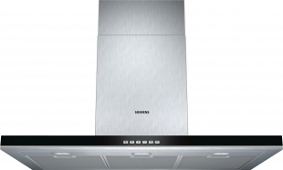 Siemens LC97BF532B 90cm Wide Slimline Box Design Chimney Hood