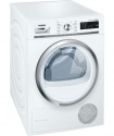 WT47W590GB Siemens 8kg Self Cleaning Condenser Dryer White/Chrome
