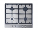 SGH600CX Stoves 600 Wide Gas Hob Cast Iron Supports St/st